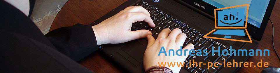 Andreas Hohmann – Ihr PC-Lehrer